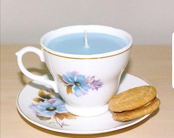 Earl Grey Teacup Candle
