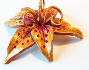 The Magical Golden Flower | Tangled | Tiger Lilly | Brooch