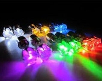 LED Earrings - Glow the night away with these magical light up earrings.
