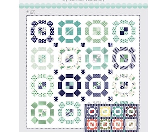 """Puddle Jumping  Pattern by Camille Roskelley of Thimble Blossoms -165 Finished Quilt Size- 75"""" x 75"""""""