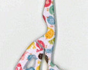 NEW! Little Birds scissors counted cross stitch at thecottageneedle.com 2018 Nashville Market