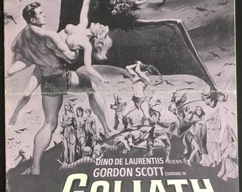 Pressbook Goliath vs the Vampires dir Sergio Corbucci, Giacomo Gentilomo 1961
