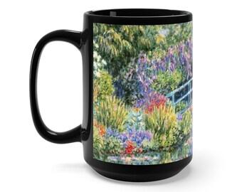 Diane Monet  Calm Afternoon  Black Mug 15Oz