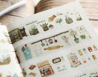 Art, Food And Life Washi Tape
