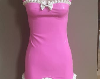 Latex Girdle Dress