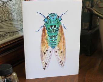 Emerald Cicada CARD
