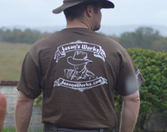 Jason's Works Brown T-Shirt