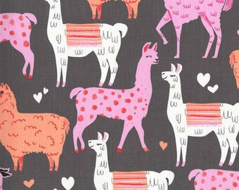 Packmates Coin Fiesta Collection Llamas by Michael Miller Fabrics 100% Quilters Cotton Available in Fat Quarter, Half Yard, Yard