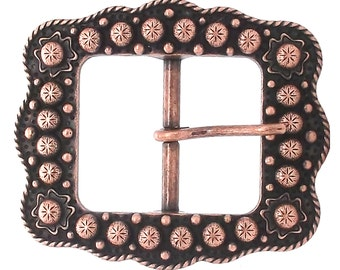 "Sunburst Buckle Copper 1-1/2"" 2675-10"