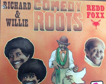 Comedy Roots - Richard and Willie - Redd Foxx - vinyl record