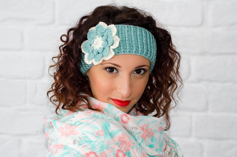 Blumenstirnband stricken häkeln Womens Stirnbänder