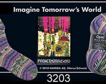 Opal Sock Yarn Hundertwasser, 100g/465yds, #3203