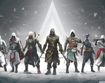 Assassin's Creed edible image