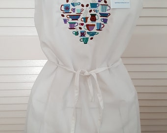 For the Love of Coffee Apron