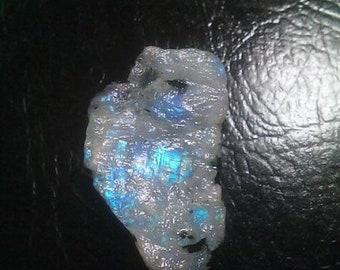80% OFF SALE Rainbow Moonstone Rough Druzy
