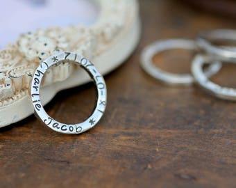 Silver Slender Ring