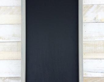 Gray To Do List Framed Chalkboard With Chalkboard Tray/Chalkboard/Framed Chalkboard/Kitchen Chalkboard/Farmhouse Chalkboard/Rustic