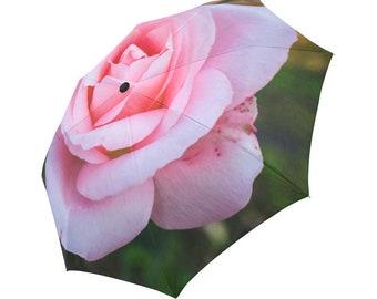 Rose Umbrella Pink Umbrella Floral Designed Umbrella Photo Umbrella Rainbow Umbrella Photo Umbrella Automatic Abstract Umbrella