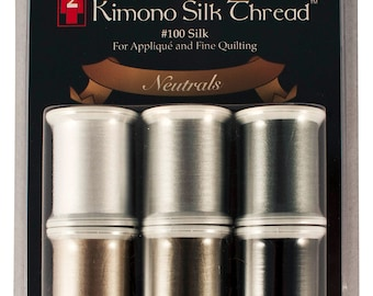 Kimono Silk Thread Set Neutral Collection