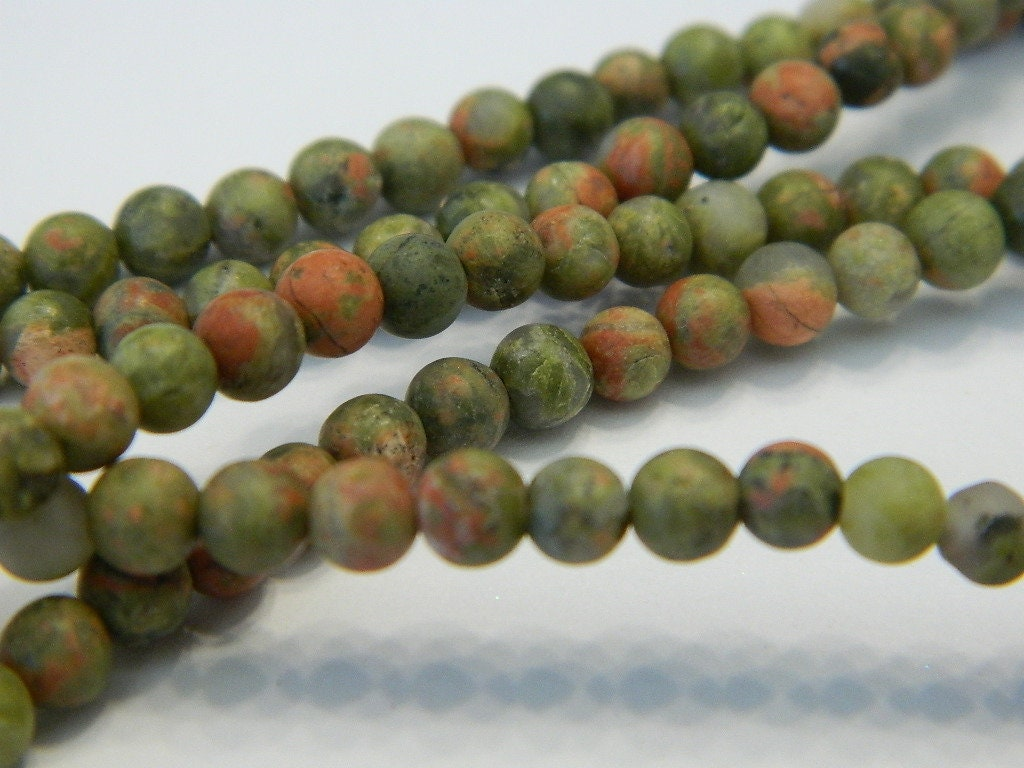 image beading precious semi gemstone supplies round unakite and gemstones beads string