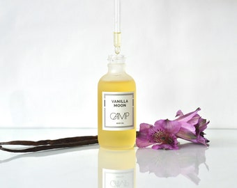 Vanilla Moon Body Oil. All Natural Skin Care.