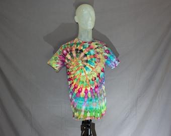 Handmade Ice Dye T-Shirt: Medium 14