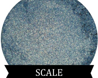 Blue Green Eyeshadow  SCALE