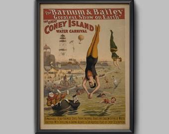 Circus Poster - Vintage Circus - Circus - Circus Art - Circus Print - Circus Posters - Antique Circus-Circus Printables-Vintage Circus Print
