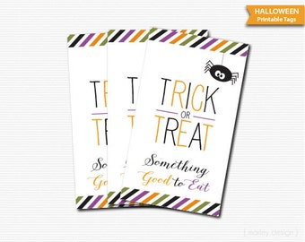 Halloween Tags Digital Download Printable Tags Instant Download Halloween Party Tags Halloween Decor Halloween Favor Tags Halloween Favors