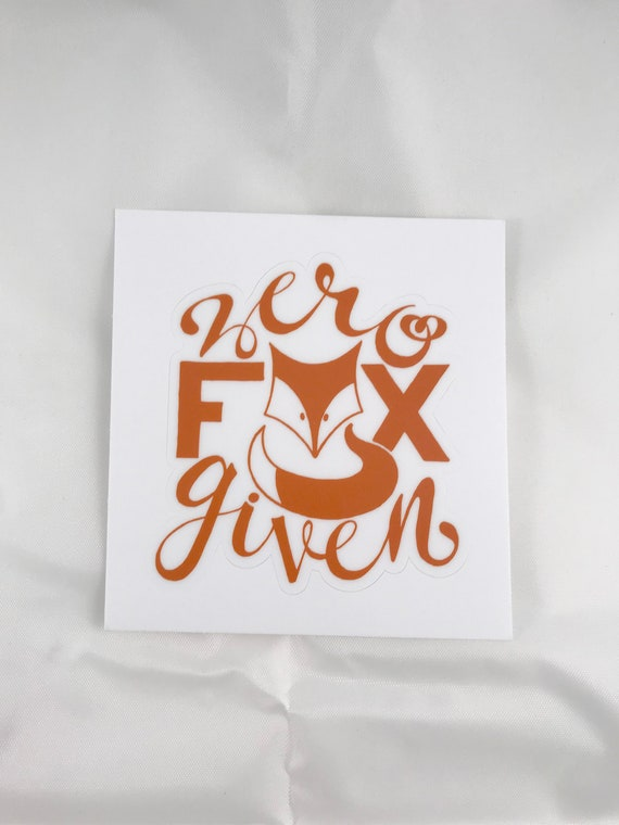 Zero Fox Given Stickers, Packaging Stickers, Stickers for Crafters, 3X3 Stickers, Stickers for Small Shops, Small Business