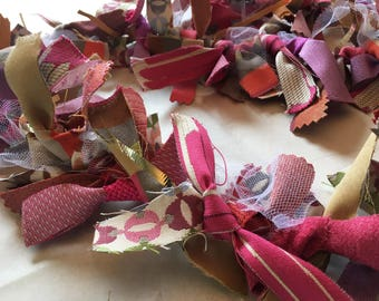 Pretty Pink Handmade Garland - Perfect for Birthdays, Baby Showers, Easter and more!