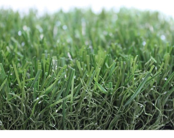 6'x6' Premium Grass Mat  - Indoor / Outdoor ALL GREEN Artificial Grass. Availble in many sizes. FREE shipping!