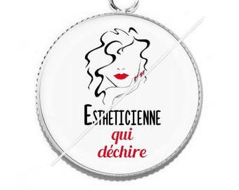 Cabochon resin cameo for beautician 1