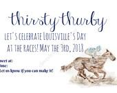 Thurby Party Invitation, ...