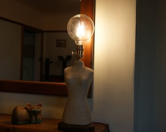 Felicity. Beautiful Hand Made Mannequin lamp