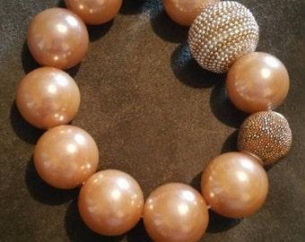 Peach Princess Bracelet