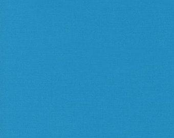 Jamaica Kona Cotton, Blue Fabric, Robert Kaufman Fabrics, Half Yard