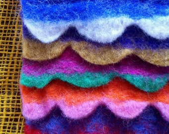 Colorful and soft purse