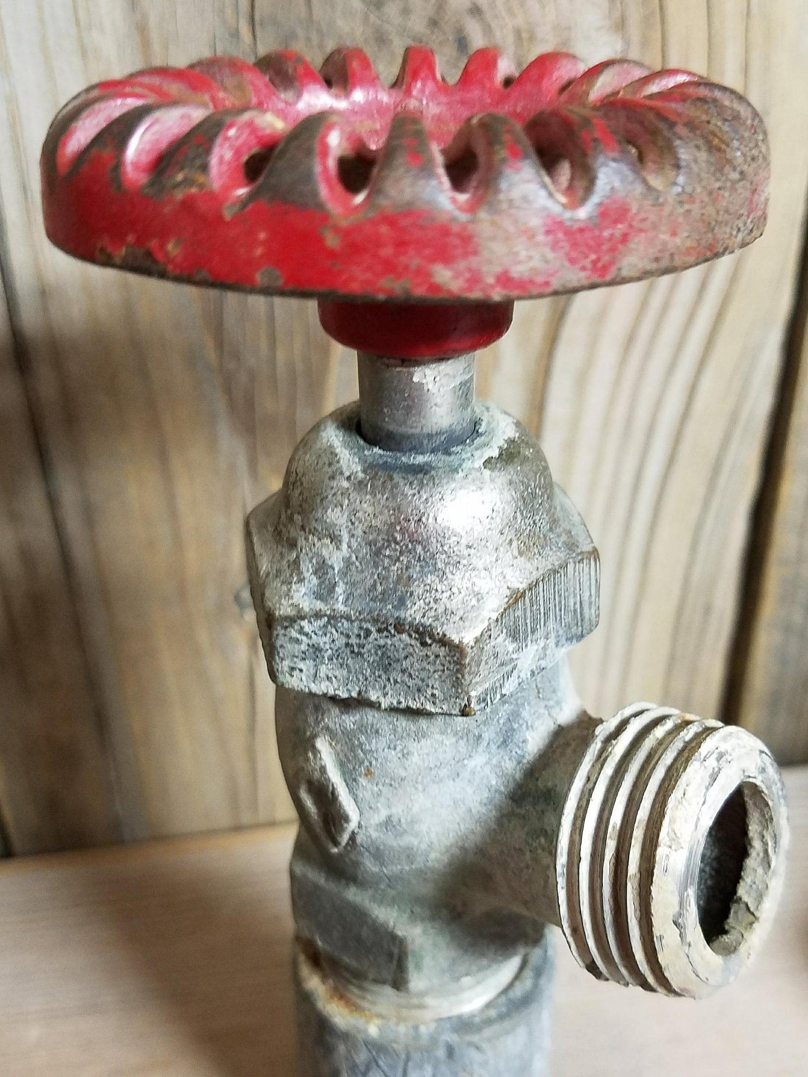 water faucet, vintage faucet, vintage spigot, brass spigot, brass ...