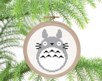 Totoro - PDF Cross Stitch Pattern
