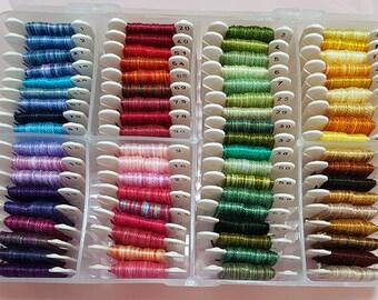 Perle cotton thread box