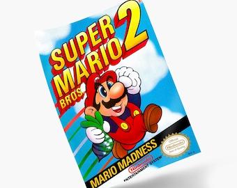 Super Mario Bros. 2 NES Print