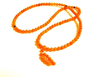 Baltic Amber Antique Buddhist Mala Prayer Ball Beads Natural 11 gram 5.6 mm