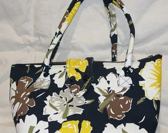 Crossbody bag in canvas