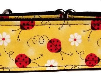 Ladybugs Martingale Collar-