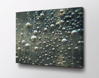 Abstract Art - Canvas Wall Decor - Modern Wall Art - Original design by Epik - Geometric Art - Rainy Evening