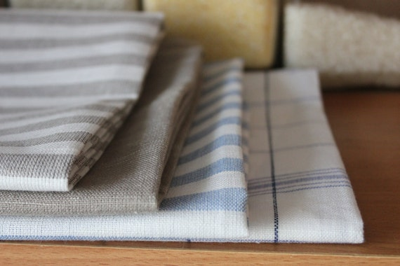 Linen kitchen towelcheckered towelstriped towelstea like this item workwithnaturefo