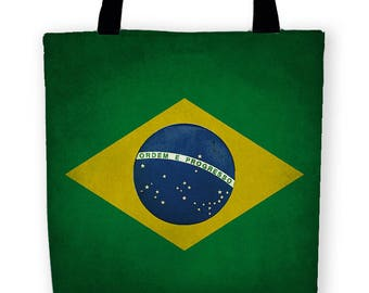 BANDEIRA BRASIL Carryall Tote Bag