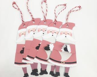 Christmas tags, Christmas wrapping, Santa tags, Father Christmas tags, Christmas gifts, Christmas gift tags, Santa, father christmas
