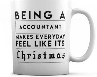 Actor Mug- Being an Actor Makes Everyday Feel Like It's Christmas